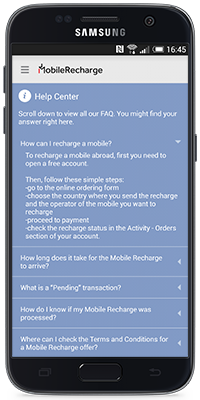 Mobile Recharge App for Android